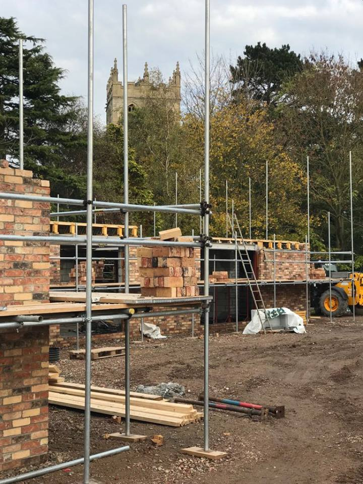 Site Progress for New Build Dwelling